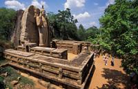 Dambulla Cave temple & Aukana Buddha statue