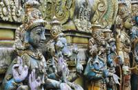 Ella Gap-Rawana water fall & Sitha Amman Hindu Temple